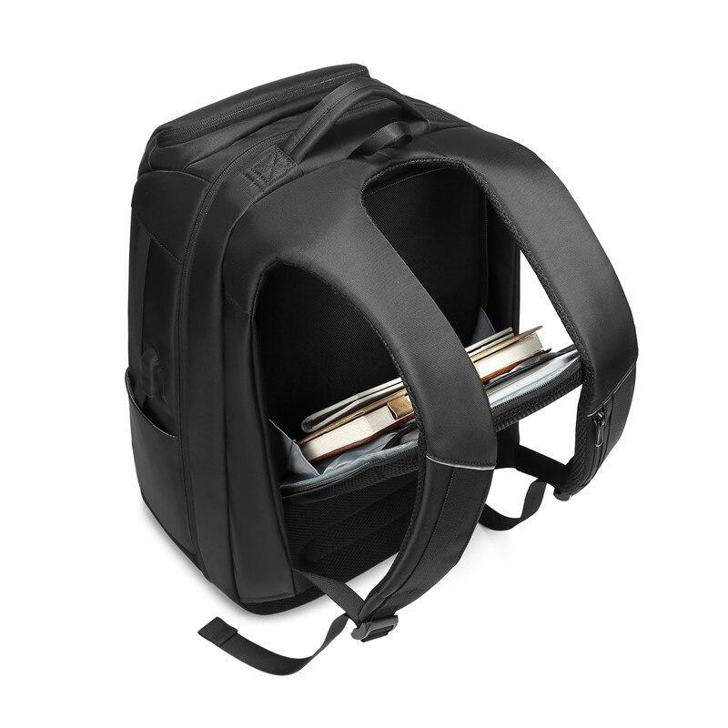 Sac à dos de luxe pour hommes d'affaires pour voyage sacs à dos d'ordinateur portable de 17 pouces pour hommes sac à dos anti-vol sac à dos mâle usb cartable - 5