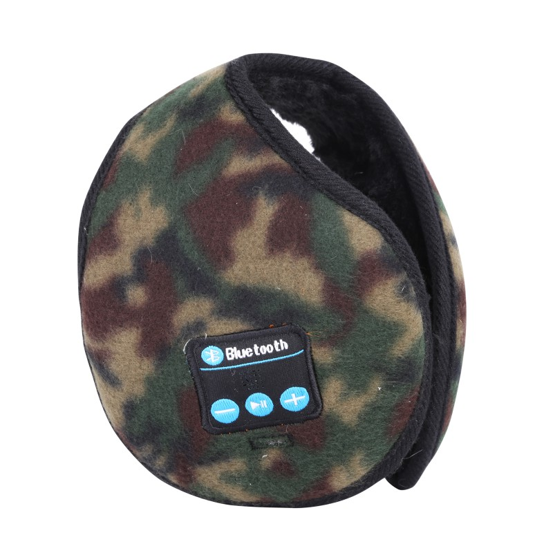 4 Color Winter Warm Neckband Earmuffs Wireless Bluetooth Earphone Liberate Hands Answer and Call the Phone in Outdoor Activity
