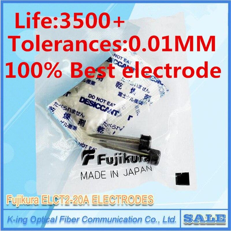 Originale Fujikura ELCT2-20A elettrodi FSM-70S FSM-FSM50S fsm-80S fsm-62S FSM60s FSM80s Fibra di Fusione asta elettrodo Giuntatrice