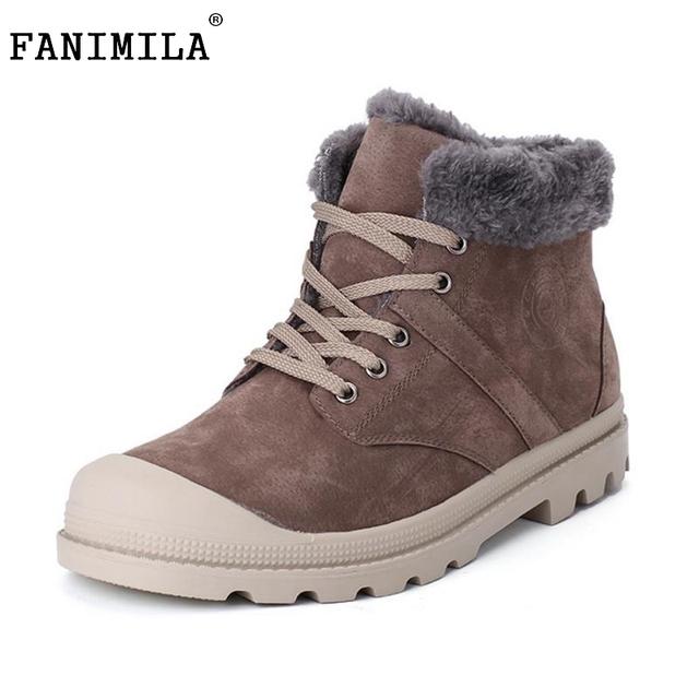 Nueva Moda Botas de Los Hombres Botas Botas de Algodón de Alta Calidad Respirable Cómodo Súper Caliente Antideslizante Botas de Nieve Hombres Zapatos de Invierno
