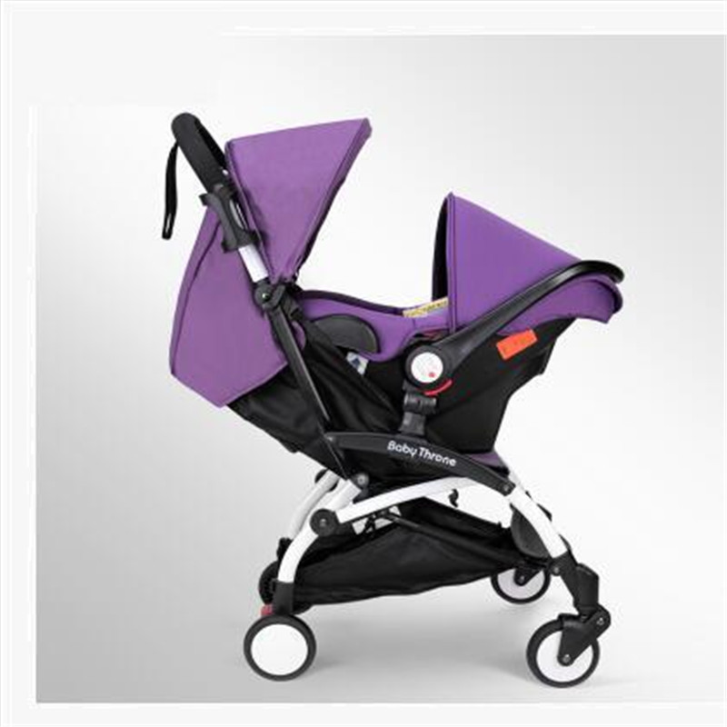 Brand Baby Stroller 3 in 1 Folding Umbrella Baby Car Multifunction Babies Carriages with Baby Car Safe Seats Free Drop Shipping