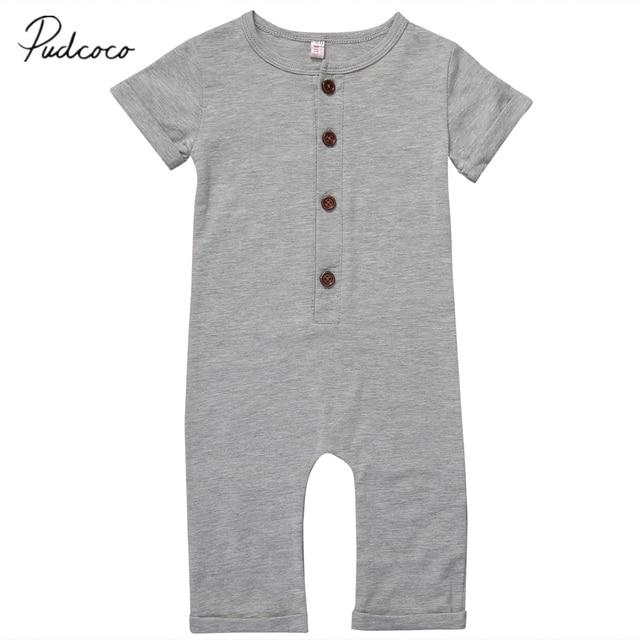10688c903 Aliexpress.com   Buy Pudcoco Newborn Toddler Baby Boy Girl Romper ...