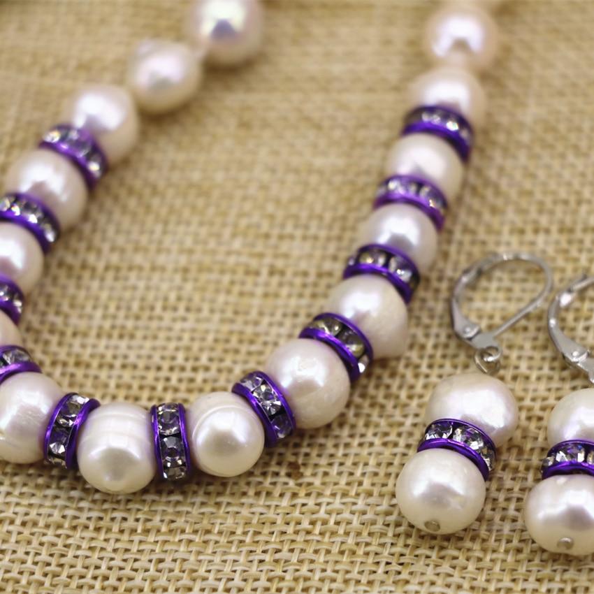 Énorme 18-20 mm blanc Coin-forme de véritables d/'eau douce perle crochet Boucles d/'oreilles