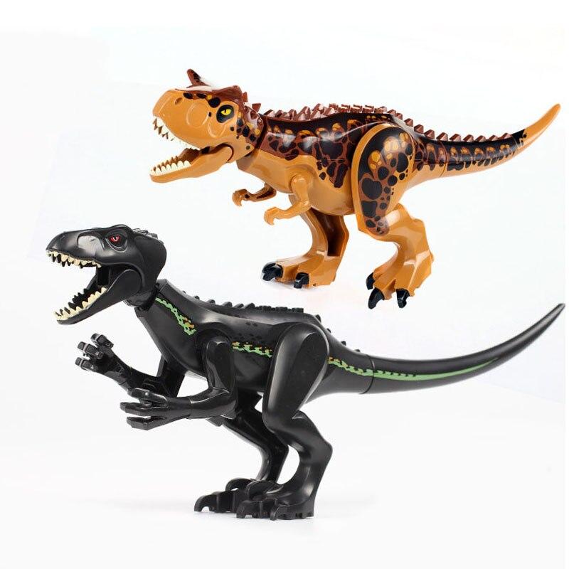 Neue Jurassic bausteine von Raptor Brutalen welt 2 MINI dinosaurier ziegel dinosaurier spielzeug für kinder Dinosaurier Weihnachten