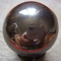 HOT 1 STÜCK 45mm Großen Natürlichen Macht Magnetische Hämatit Kugel Poliert Healing Proben Exquisite Geschenk Oder Dekoration