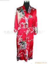 Купить с кэшбэком Chinese Women's Silk Satin Robe  Pajamas Sleepwear Gown