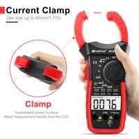 Digitale Clamp Meter HoldPeak 570C-APP Mit 4000 zählt 1000A AC Strom Spannung Kapazität Test Multimeter Verbinden zu Telefon