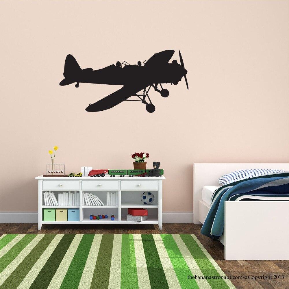 online get cheap unique modern furniture aliexpresscom  alibaba  - airplane wall decal sticker unique modern home decoration wall sticker diyart vinyl bedroom mural boys