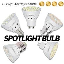 E27 LED Bulb MR16 Corn Bulbs GU10 LED Spot Light Bulb E14 Ampoule for Home Spotlight 2835 SMD B22 LED Lamp GU5.3 4W 6W 8W AC220V 10 pcs set 3 6w 60 gu10 led non dimmable smd light bulbs day warm white high power 270lm for home graden