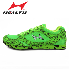 Health Athletic training trail sports running shoes slip-resistant breathable medium-long woman running sneakers jogging shoes