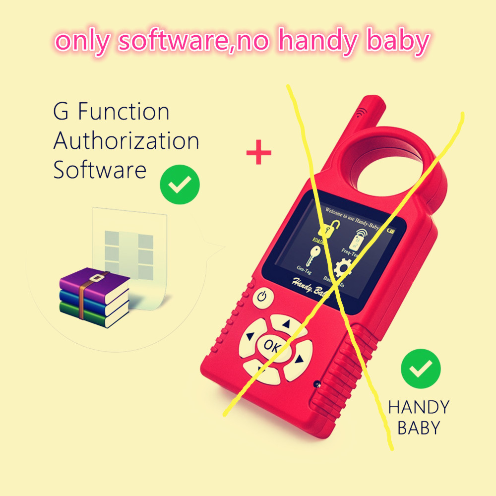 New arrival G Chip Copy Function Authorization Software for JMD Handy Baby CBAY Handy Baby only G chip software free shipping  10pcs lot ys31 cn5 g chip used for mini cn900 and nd900 key copy machine free shipping