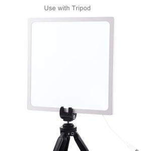 Image 4 - PULUZ מיני 22.5cm LED צילום צללים תחתון אור צל משלוח אור מנורת פנל Pad עבור 20 cm תמונה סטודיו תיבת lightboxs