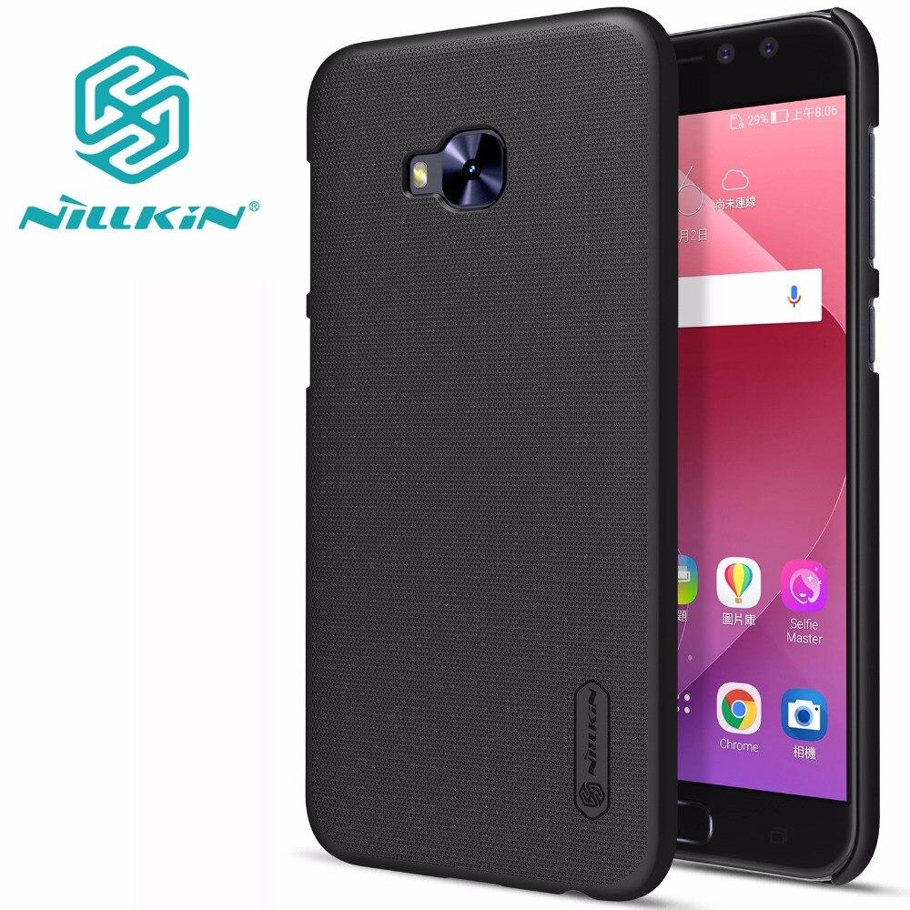 Asus Zenfone 4 Selfie Pro ZD552KL case back cover NILLKIN Super Frosted Shield matte hard back cover +free screen protector