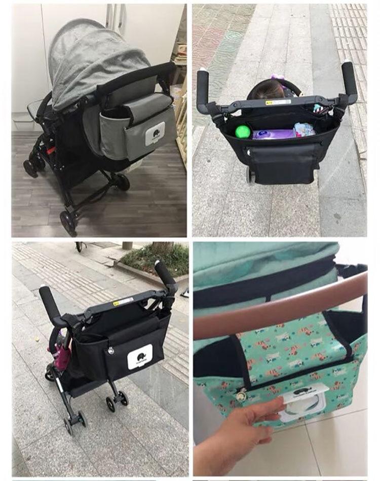 Baby Stroller Organizer Bag - Beyond Baby Talk