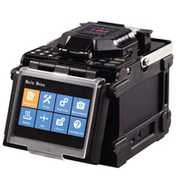 Fusion Splicer X 86H, Multi function fiber Fusion Splicer X86H with 8s splicing time FTTH FTTX fiber optic tools free with DHL