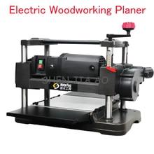 Electric Woodworking Planer Desktop Wood Planer Machine Flat Knife Wood Cutting Machine Automatic Feeding Woodworking Planer