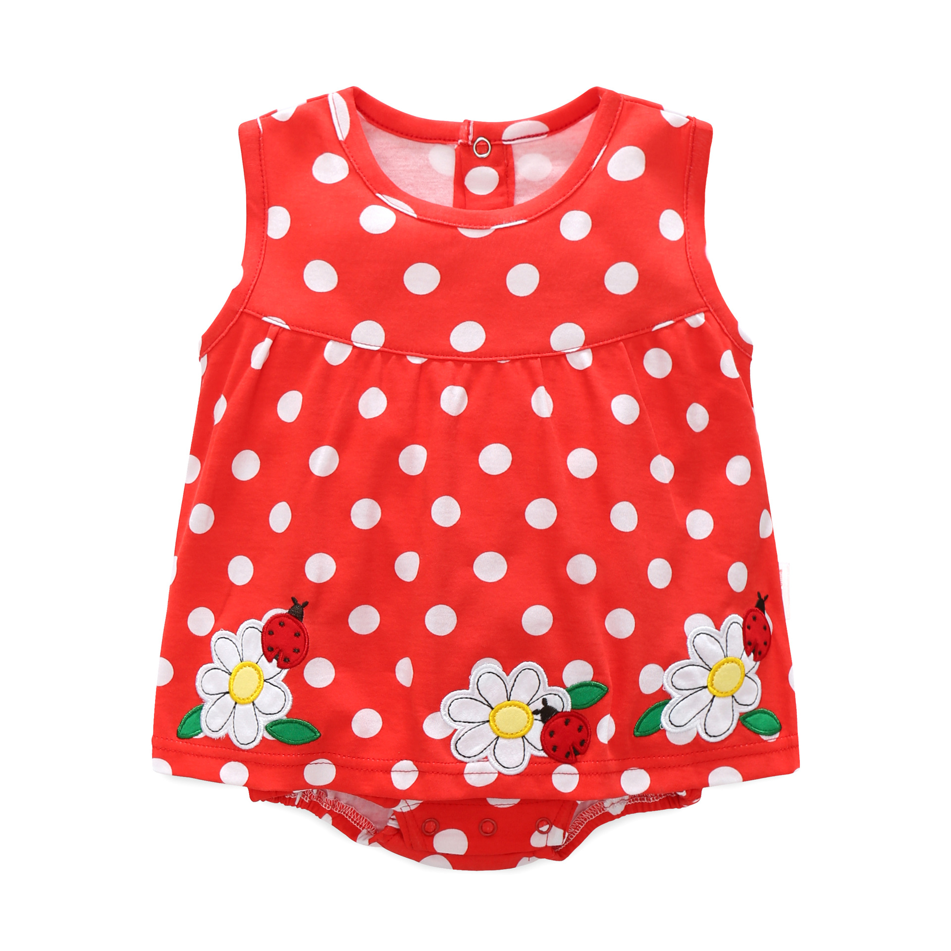 Summer 2018 baby girl clothes mini body dress flower infant dresses