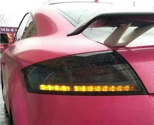 Image 4 - ชุด 2 pcs รถจัดแต่งทรงผมสำหรับ 2006 ~ 2013 ปี TT ไฟท้ายไฟท้าย LED TT ไฟท้ายด้านหลัง DRL + เปิด + เบรคย้อนกลับ
