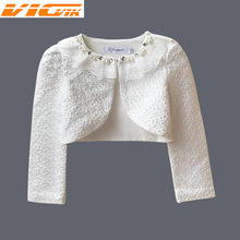 US $7.28 |Girls Lace Cardigan 3 9Yrs Girl Long Sleeve Jacket For Wedding Dress Party White Pink Girls Clothes Outerwear Girls Bolero Coat-in Jackets & Coats from Mother & Kids on AliExpress - 11.11_Double 11_Singles' Day