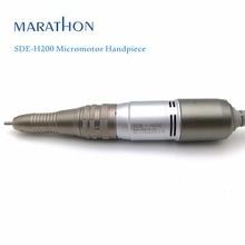 Broca e acessório para manicure, peça de mão micromotor para maratona com SDE H200 rpm, 30000 motores fortes ou motor saeyang para manicure elétrica, 1 peça