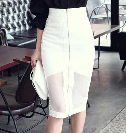 Aliexpress.com : Buy Korean Style High Waisted Pencil Skirt Slim ...
