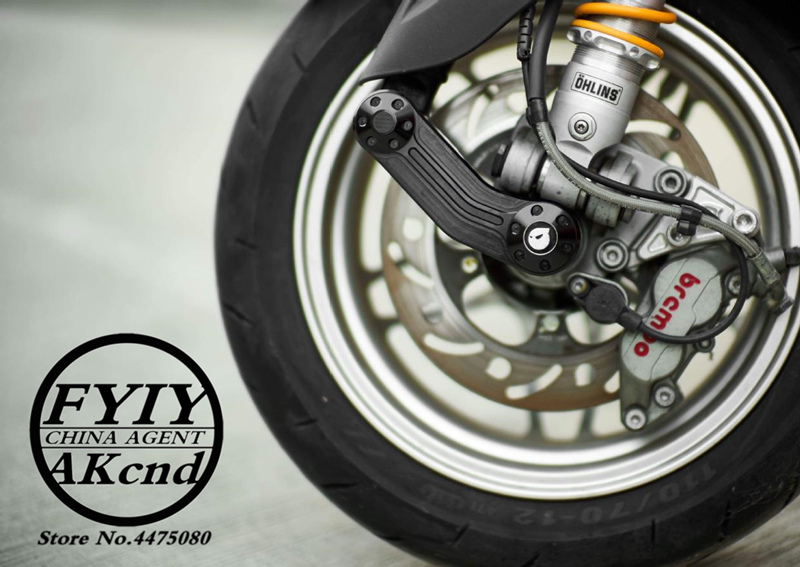 Image 2 - Motorcycle Aluminium alloy brake caliper bracket For piaggio vespa GTS/GTV 300/946 sprint/spring 40mm brake caliper bracket-in Brake Shoe Sets from Automobiles & Motorcycles