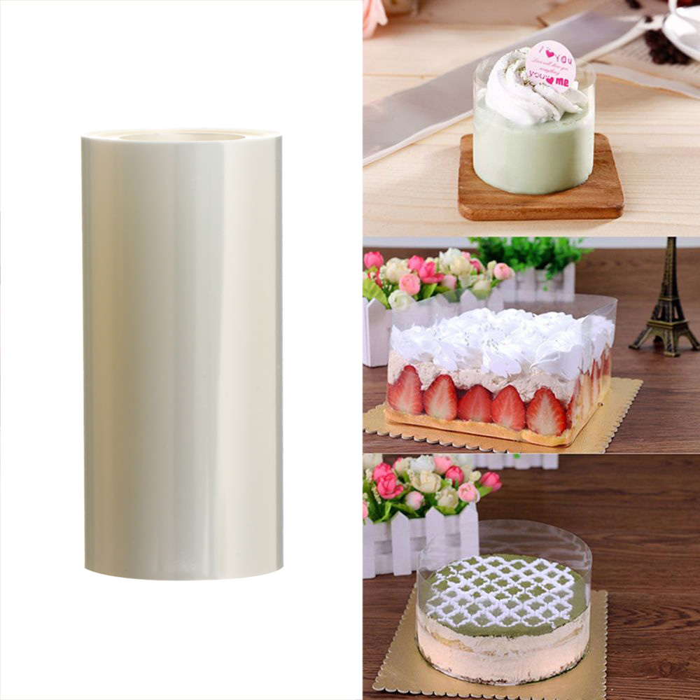 Transparent Clear Mousse Surrounding Edge Wrapping Tape For Cake Decorate Tool