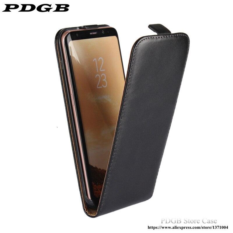 PDGB Leather Case For Sony Xperia Z1 Z2 Z3 Z5 Premium X Compact XP XA E5 XZ L1 XA1 Ultra XZ1 XZS XZ3 Vertical Flip Pouch Cover