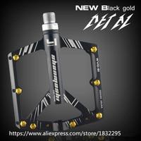 1 Pair Cycling 7 Colors Aviation Aluminum Alloy Road Bike Pedals Ultralight MTB BMX DU Bearing