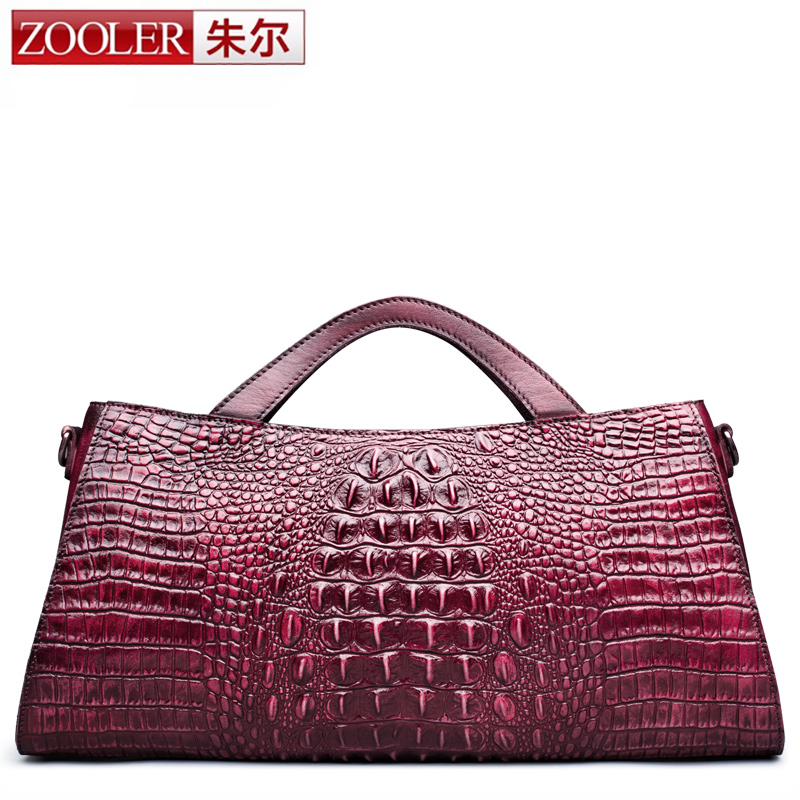 ZOOLER Hot New Winter Fashion Large Genuine Leather Handbag Lady Simple Business High Capacity OL Pillow Handbags Shoulder Bags zooler genuine leather backpacks 2016 new real leather backpack for men famous brand china hot large capacity hot 65055