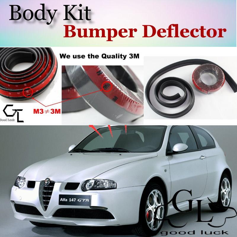 bumper lip deflector lips for alfa romeo 147 gta ar. Black Bedroom Furniture Sets. Home Design Ideas