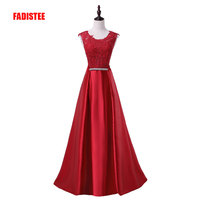2015 New Arrival Party Evening Dresses Long Dress Vestido De Festa A Line Appliques Gown Sexy