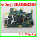 by DHL Free Shipping & Original Unlocked for Sony L39h Motherboard,for Sony Xperia Z1 L39h/C6902 Mainboard & Good Working