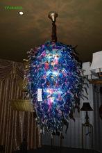 Popular blown glass chandelier artist buy cheap blown glass 120v240v led source handicraft murano glass home lamp fancy artistic ceiling aloadofball Images