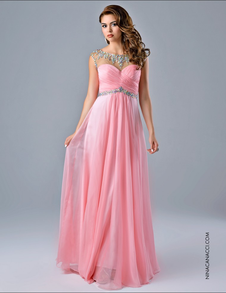 Latest Floor length Long Special Occasion Gowns 2015 Custom Made ...