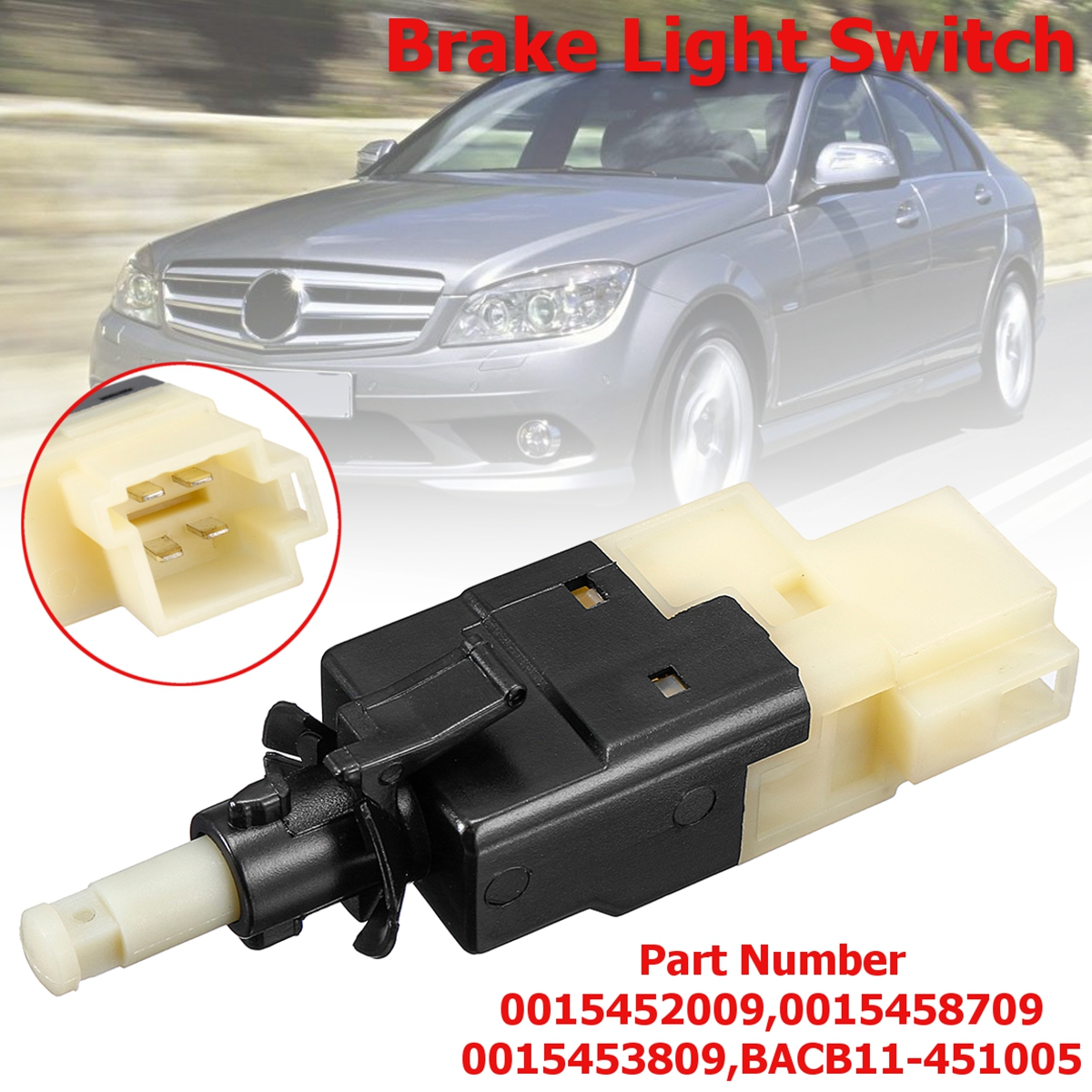 detail feedback questions about a0015453809 car style brake light switch for mercedes benz c230 c240 w203 w163 ml320 ml350 2001 2002 2003 2004 2005 2006  [ 1200 x 1200 Pixel ]