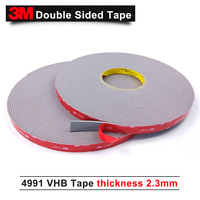 3M double sided adhesive tape/VHB 4991 acrylic/Outstanding durability performance/ 10mm*16.5m*6rolls/we can offer other size