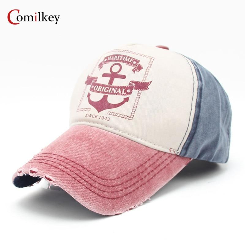 Cowboy Caseball Kepsar Hip Hop Hat Gorras Cykel Snapback Mössor - Kläder tillbehör