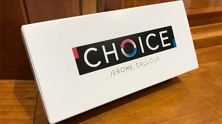 Choice (Gimmicks And Online Instructions) By Jerome Sauloup And Magic Dream - Trick Classic Card Magic Props Close Up Magic Fun