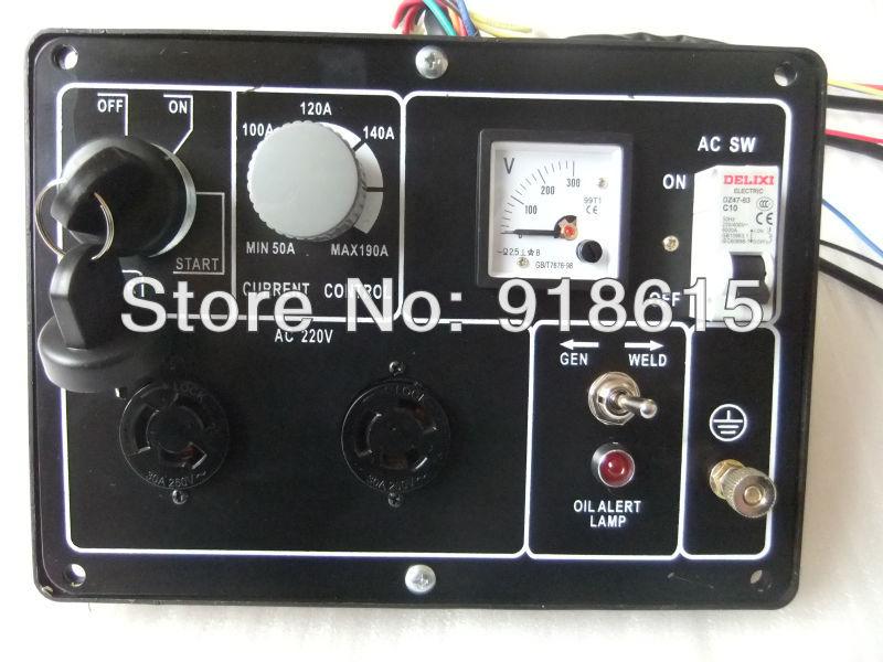 KAMA  type ,welding and generator dual use ,Control  Panel  assembly, replacement шапка kama kama ka022cumpn60