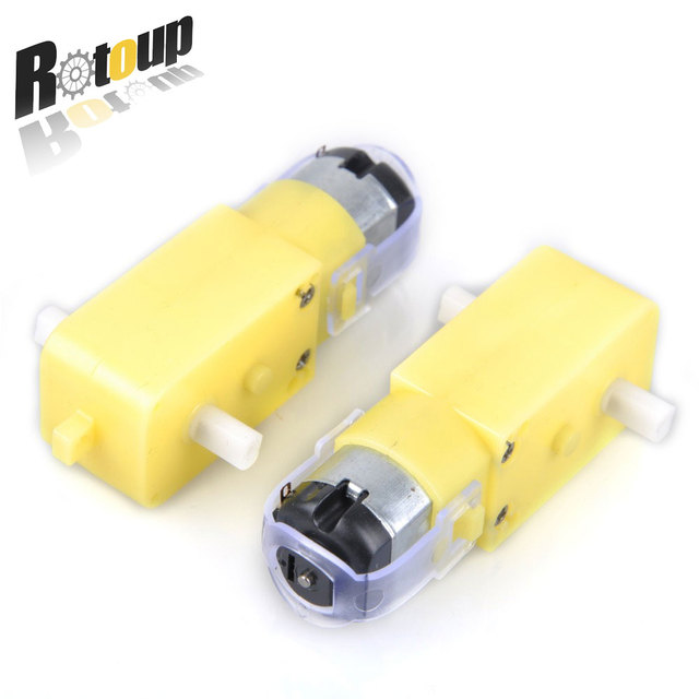 Rotoup dc motor smart robot chassis gear