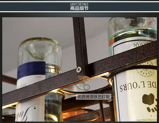 Note: Do Not Include Wine Bottle Or Bulb,if You Want Bigger Size , Please  Feel Free To Contact Us , Thanks