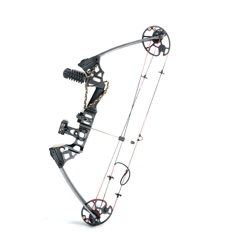 Junxing M120 Dream Aluminum Alloy Compound Bow With 20 70 Lbs Draw Weight Camo And Black Color For Human Outdoor Hunting Bow Flats Bow Brushesbow Line Aliexpress