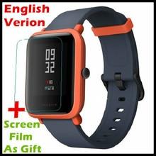 """(Englisch Version) Xiaomi Huami Amazfit Bip BIT TEMPO Lite Jugend Smart Uhr Mi Fit Farbe Bildschirm 1,28 """"Baro IP68 Wasserdicht"""