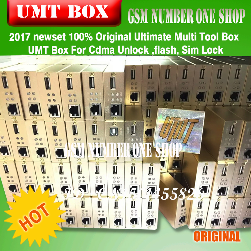100% Original Ultimate Multi Tool Box UMT Box For Cdma Unlock ,flash, Sim Lock Free Shipping