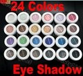 Novo 2016 24 Cores Da Paleta Da Sombra do Pigmento Pó Sombra Maquiagem Cosméticos Beleza, 2018 por atacado