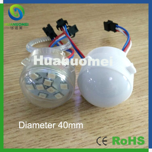 Lights & Lighting 100% Quality Drive Ic 1903 Led Pixel Module Rgb Led Pixel Point Light Addressable For Entertainment Park Ride,transparent Or Milky Cover Led Modules