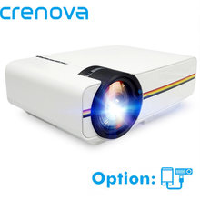 Crenova YG400 YG410 Proyektor Mini dengan Kabel Sync Tampilan Home Theater Film Projector dengan HDMI USB AV VGA Video Proyektor(China)