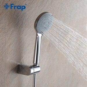 Frap трехступенчатая круглая спринклерная водосберегающая душевая головка ABS пластик ручной душ аксессуары для ванной комнаты F09