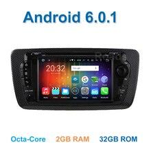 8 core 6.0.1 Android Coche DVD Reproductor de Video para Asiento Ibiza 2009 2010 2011 2012 2013 con la Radio del WiFi BT GPS